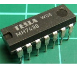 7438 4x 2vstup NAND výkonový, DIL14, /MH7438, MH7438S,MH5438/