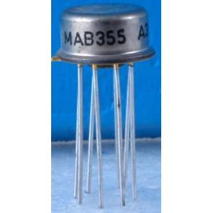 MAB355 - operační zesilovač JFET, TO5