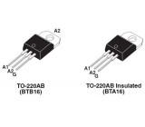 Triak BTB16-600BW 600V/16A Ig=50mA TO220