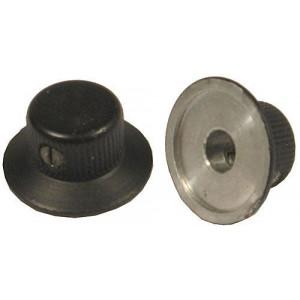 Přístrojový knoflík průměr 20mm, hřídel 6mm