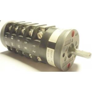 Vačkový spínač VS16 2255 D4, 16A/380V~