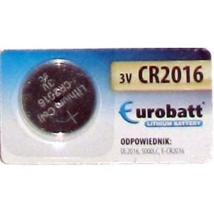 Baterie EUROBATT CR2016 3V lithiová