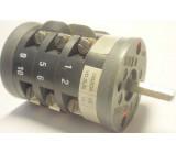 Vačkový spínač VS10 8357 C8, 10A/380V~, 7 poloh 45°