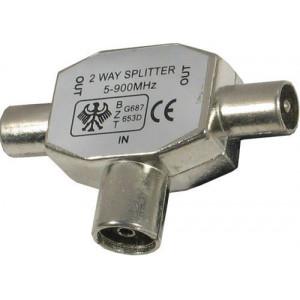 Anténní rozbočovač kovový s feritem