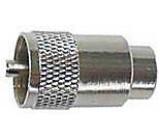 UHF konektor na kabel 10mm (RG8,213) TWIST ON