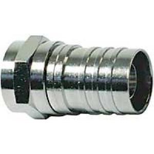 F konektor na koax 5mm lisovací
