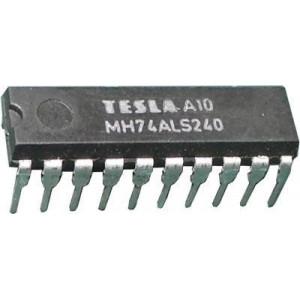 74ALS240 8x invertující budič, DIL20 /MH74ALS240,54ALS240/ 74240