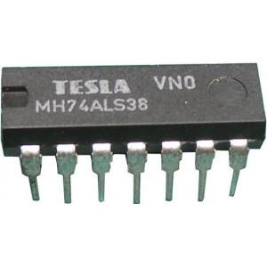 74ALS38 4x2vstup NAND-otevřený kolektor, DIL14 7438