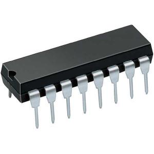 74ALS153 2x 4 vstup. multiplexer, DIL16 /74153/