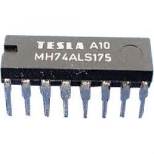74ALS175 Quad D flip-flop, DIL16 /MH74ALS175/ 74175/MH54ALS175/