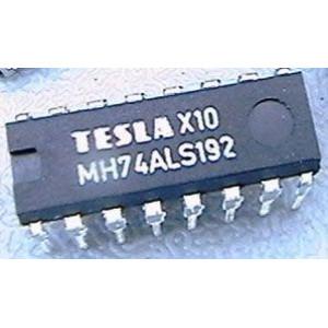 74ALS192 progr.vratný čítač s nulováním, DIL16 /MH74ALS192/ 74192