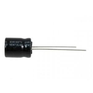 2u2/450V 105°C 10x13 RM5mm, elektrolyt.kondenzátor radiální