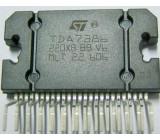 TDA7386 NF zesilovač 4x45W/14V