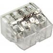 Svorka Wago, 2273-208, 0,5 - 2,5 mm2, 8pólová, transparentní/bílá