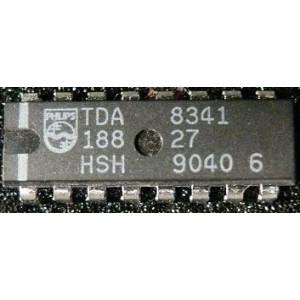 TDA8341 - mf zesilovač a demodulátor pro TV, DIL16