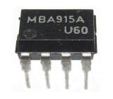 MBA915A NF zesilovač 0,5W TESLA