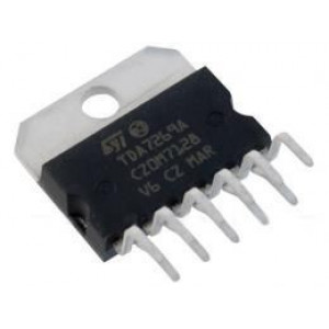 TDA7269A nf zesilovač 2x14W +-22V/3A SQL11