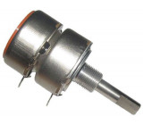 250k/G TP289 32B, potenciometr otočný tandemový