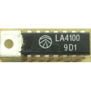 LA4100-nf zesilovač 1W,Ucc=6V,DIP14+g