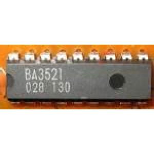 BA3521-nf zesilovač pro walkmany 2x50mW Ucc=3V