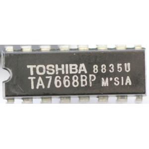 TA7668BP 2x předzesilovač pro mgf TOSHIBA
