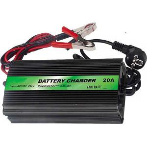 Nabíječka Pb akumulátorů CARSPA ENC1220 12V/20A s automatikou