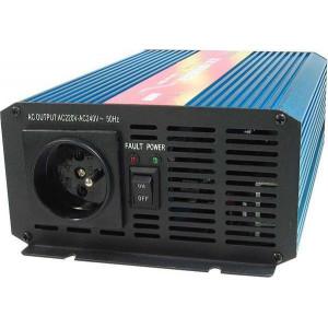 Měnič napětí 24V/230V 600W, CARSPA P600, čistá sinusovka