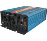 Měnič napětí 12V/230V 2000W, CARSPA P2000, čistá sinusovka