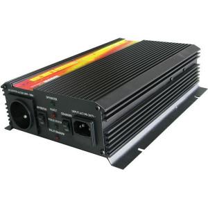 Měnič napětí+UPS 12V/230V/1000W, CARSPA UPS1000, modifikovaná sinus.