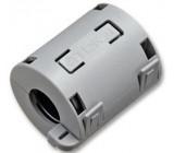 Dělené feritové jádro na kabel do 13mm, černé