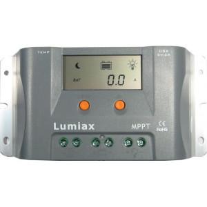 Solární regulátor MPPT Lumiax MT1550EULi, 12V/15A pro lithiové baterie