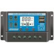 Solární regulátor PWM KLX1230 12V/30A+USB pro různé typy baterií