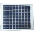 Fotovoltaický solární panel 12V/20W polykrystalický 450x360x20mm