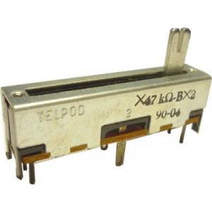 Potenciometr tahový TELPOD 2x47k/G 45x12x10mm