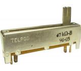 Potenciometr tahový TELPOD 47k/G 45x12x8mm