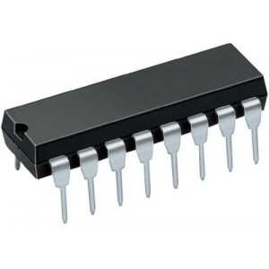 4060 12bit.dvojkový čítač+oscilátor, DIL16