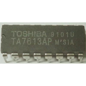 TA7613AP AM+FM tuner+ nf zesilovač DIP16