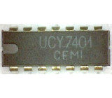 7401 4x 2vstup NAND /UCY7401/, DIL14