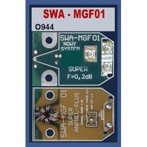 Anténní předzesilovač 300/75 SWA-MGF01 1-68k/20-25dB
