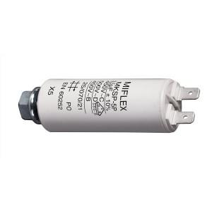 3,5uF/450V motorový kondenzátor MKSP-5P s fastony, 25x58mm