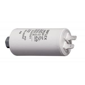12uF/450V motorový kondenzátor MKSP-5P s fastony, 35x65mm