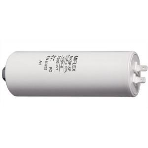 40uF/450V motorový kondenzátor MKSP-5P - fastony, 45x119mm