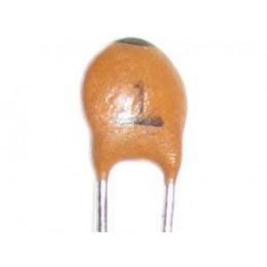1pF/50V SUNTAN, RM=2,54, keramický kondenzátor