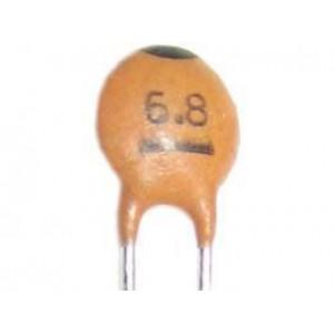 6p8/50V SUNTAN, RM=2,54, keramický kondenzátor