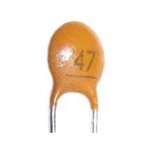47pF/50V SUNTAN,RM=2,54, keramický kondenzátor
