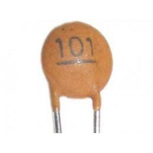 100pF/50V SUNTAN,RM=2,54, keramický kondenzátor