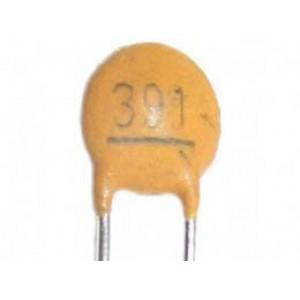 390pF/50V SUNTAN, RM=2,54,keramický kondenzátor