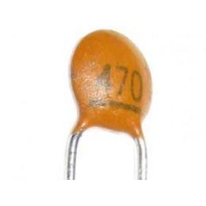 470pF/50V SUNTAN, RM=2,54, keramický kondenzátor
