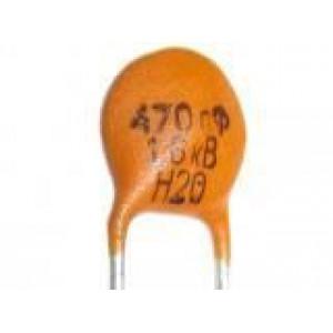 470pF/1600V-keramický kondenzátor