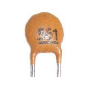 560pF/50V SUNTAN,RM=2,54, keramický kondenzátor